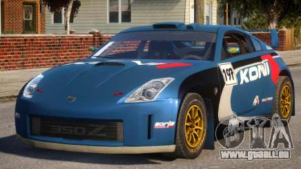 Nissan 350Z Rally Car DiRT2 pour GTA 4