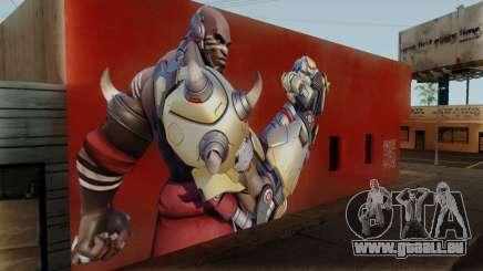 Doomfist Wall für GTA San Andreas
