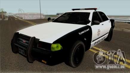 LVPD Vapid Stanier GTA V pour GTA San Andreas