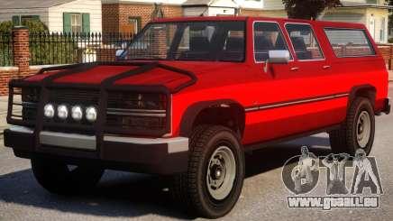 Yosemite SUV Versions pour GTA 4