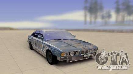 BMW E34 520 Damaged pour GTA San Andreas