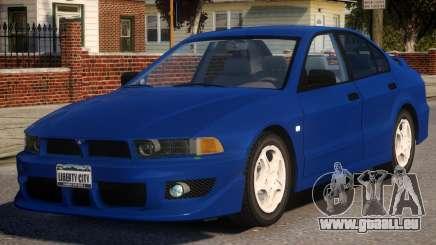 1998 Mitsubishi Galant für GTA 4