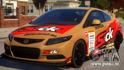2013 Honda CivicSi PJ2 pour GTA 4