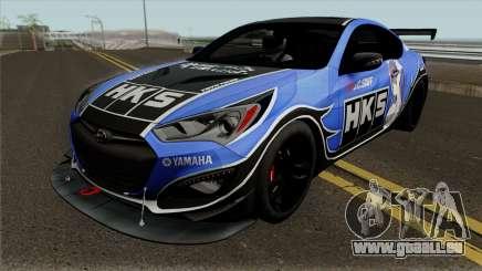 Hyundai Genesis Coupe HKS für GTA San Andreas