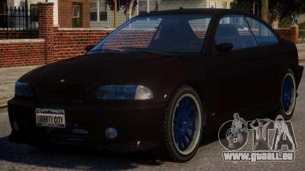 BMW M3 Xenon für GTA 4