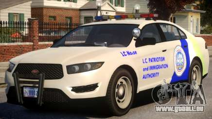 Vapid Interceptor Whelen Edge pour GTA 4