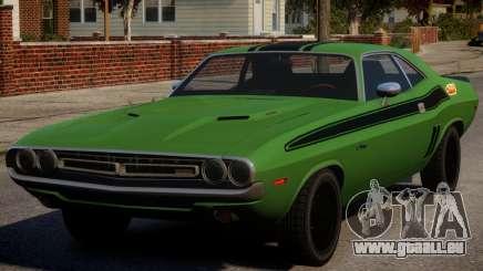 Dodge Challenger 1971 PJ5 pour GTA 4