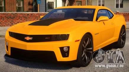 Chevrolet Camaro ZL1 V1.4 pour GTA 4