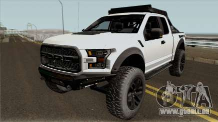 Ford F-150 Raptor Project Scorpio 2017 No Paint pour GTA San Andreas