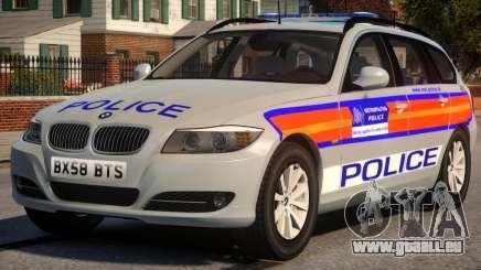 Metropolitan BMW 3 Series Galaxy Version für GTA 4