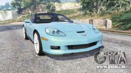Chevrolet Corvette ZR1 (C6) 2008 v1.1 [replace] pour GTA 5