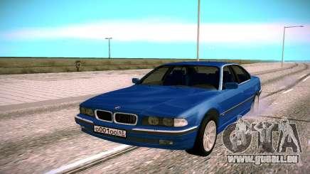 BMW M5 E38 pour GTA San Andreas