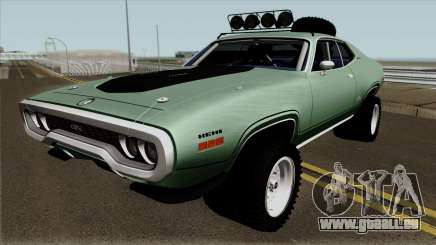 Plymouth GTX Rusty Rebel 1972 pour GTA San Andreas