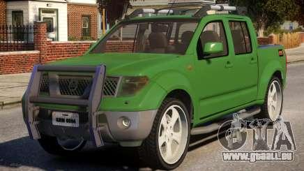 Nissan Frontier DUB pour GTA 4