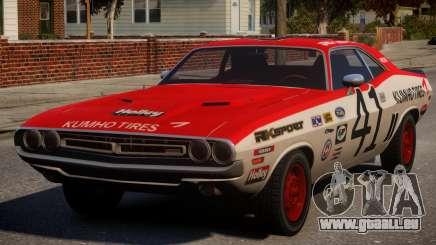 Dodge Challenger 1971 PJ3 pour GTA 4