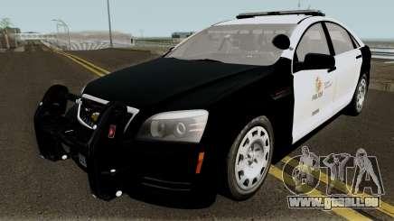 Chevrolet Caprice LAPD 2013 für GTA San Andreas