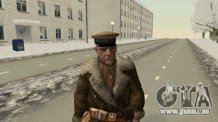 Die rote Armee in den Winter-Formular für GTA San Andreas