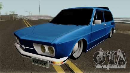 Volkswagen Brasilia Brasilhao pour GTA San Andreas