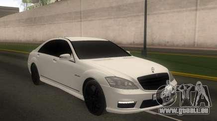 Mercedes-Benz S65 AMG W221 für GTA San Andreas