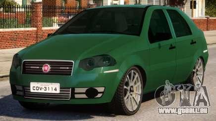 2011 Fiat Siena Sport pour GTA 4