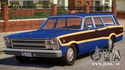 Ford Country Squire - v1.1 pour GTA 4