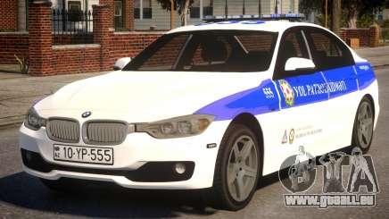 BMW M5 2015 Baku Police für GTA 4