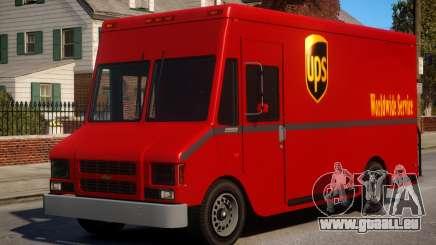 Boxville UPS Mod pour GTA 4