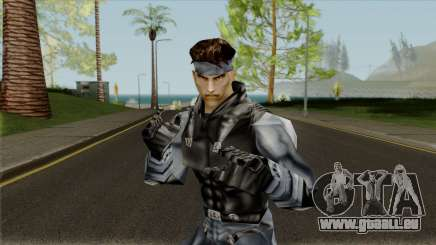 Snake - Metal Gear pour GTA San Andreas