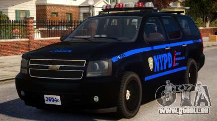 NYPD Police Tahoe [ELS] pour GTA 4