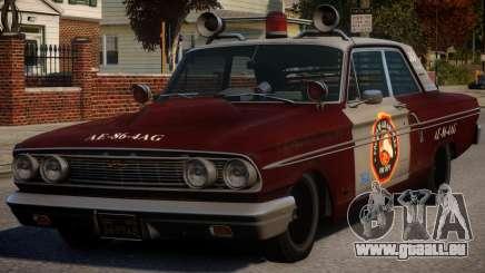 Ford Fairlane 1964 Fire für GTA 4