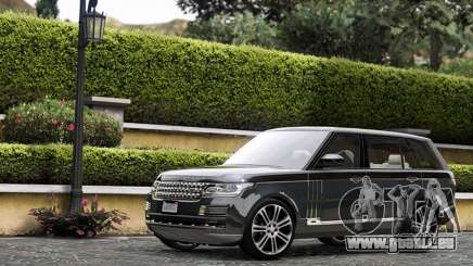 Range Rover SVA pour GTA 5
