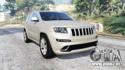 Jeep Grand Cherokee SRT8 (WK2) 2013 [replace] pour GTA 5