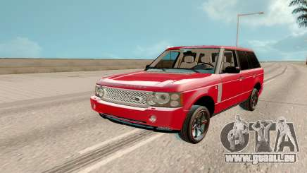 Land Rover Range Rover Tuning pour GTA San Andreas
