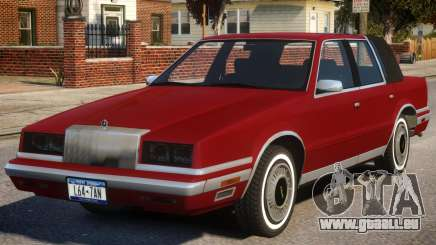1988 Chrysler New Yorker pour GTA 4