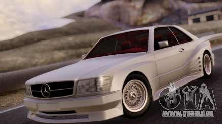 Mercedes-Benz C126 560SEC für GTA San Andreas