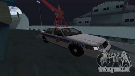 Saskatoon Ford Crown Victoria Interceptor für GTA San Andreas