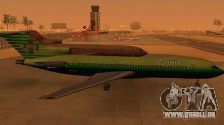 Boeing 727-200: 123robot edition für GTA San Andreas