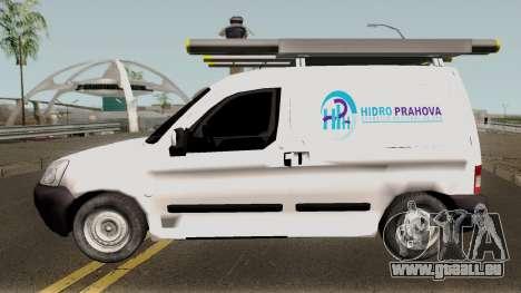Citroen Berlingo HidroPrahova Edition pour GTA San Andreas laissé vue