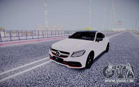 Mercedes-Benz C63 pour GTA San Andreas