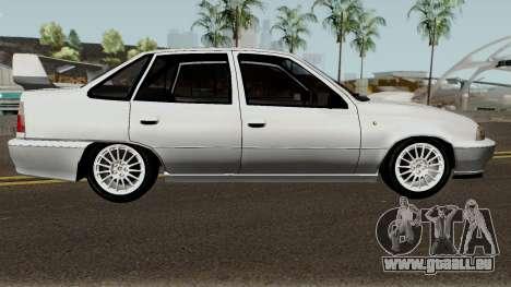 Daewoo Nexia Impreza für GTA San Andreas Rückansicht