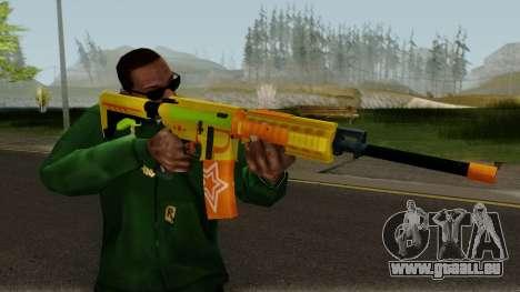 ROS-M4A1 Pew Pew Pew pour GTA San Andreas troisième écran