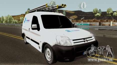 Citroen Berlingo HidroPrahova Edition pour GTA San Andreas vue intérieure