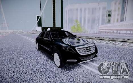 Mercedes-Benz S600 Maybach für GTA San Andreas rechten Ansicht