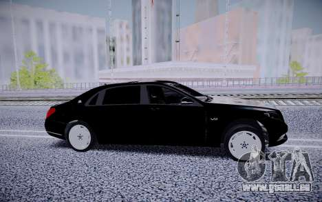 Mercedes-Benz S600 Maybach für GTA San Andreas linke Ansicht
