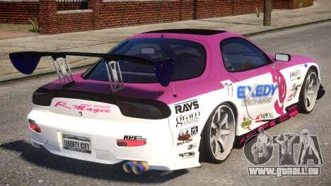 RX-7 Exedy Drift Car pour GTA 4 est un droit
