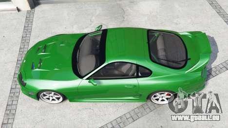 GTA 5 Toyota Supra Turbo (JZA80) [add-on] Rückansicht