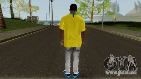 Franklin Brazil World Cup pour GTA San Andreas