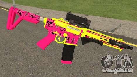 GTA Online Gunrunning Carbine Rifle MK.II Pink pour GTA San Andreas deuxième écran