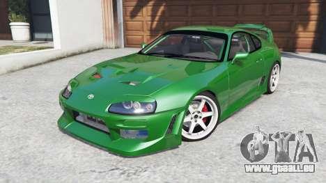 GTA 5 Toyota Supra Turbo (JZA80) [add-on] rechte Seitenansicht