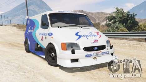 GTA 5 Ford Transit Supervan 3 2004 [replace] droite vue latérale